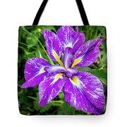 Iris Flower Tote Bag