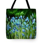 Iris Galore Tote Bag