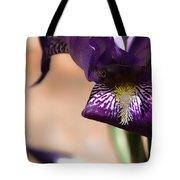 Iris Gemanica Tote Bag