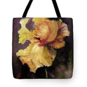 Iris Gold Tote Bag