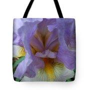 Iris Heart Tote Bag