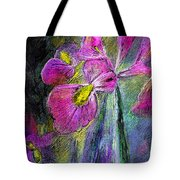 Iris In The Night Tote Bag