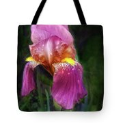 Iris In The Pink Tote Bag