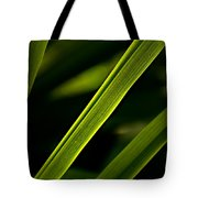 Iris Leaves Tote Bag