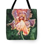 Iris On Yupo Tote Bag