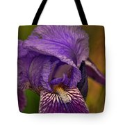 Iris Popping Out Tote Bag