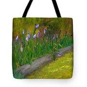 Iris Procession Tote Bag