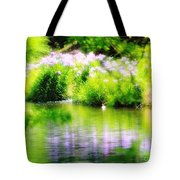 Iris' Reflection Tote Bag