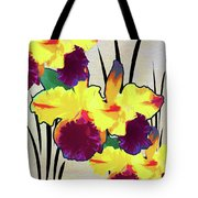 Iris Shadow Tote Bag