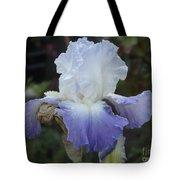 Iris Singing The Blue Tote Bag