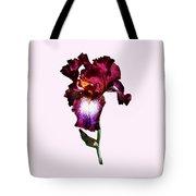 Iris Splash O' Wine Tote Bag