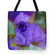 Iris Square Tote Bag