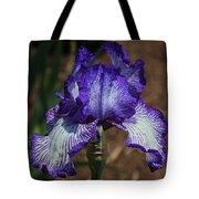Iris Unraveled Tote Bag
