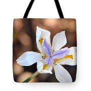 Iris Wide Open Tote Bag