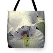 Iris With A Bonnet Series 7 Tote Bag