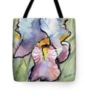 Iris With Impact Tote Bag