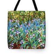 Irises Tote Bag