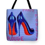 Irish Burlesque Shoes Tote Bag