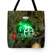 Irish Christmas Tote Bag