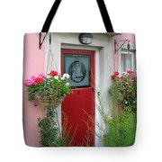 Pink Irish Home Tote Bag