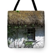 Irish Farm Cottage Window County Cork Ireland Tote Bag