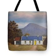 Irish Farmhouse Near Croagh Patrick Tote Bag