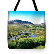 Irish Fields Of Green Tote Bag
