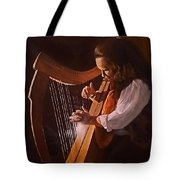 Irish Harp Tote Bag