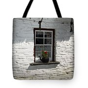 Irish Kettle Of Geraniums County Cork Ireland Tote Bag