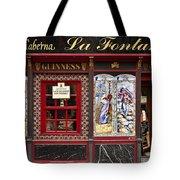 Irish Pub In Spain Tote Bag