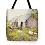 Irish Sheep Farm Tote Bag
