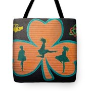 Irish Step Dancers Tote Bag