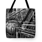 Iron Age - Bethelehem Steel Mill Tote Bag