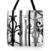Iron And Shadow Tote Bag