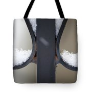 Iron And Snow Tote Bag