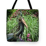 Iron Bird Tote Bag