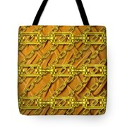 Iron Chains With Plush Texture Tote Bag