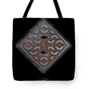 Iron Diamond Tote Bag