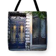 Iron Door Of Brussels Tote Bag
