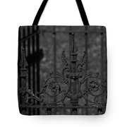 Iron Fence Gate Tote Bag