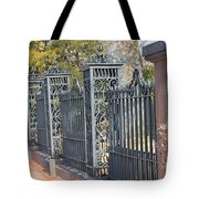 Iron Fence Tote Bag