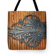 Iron Flowers Tote Bag