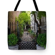 Iron Gate Alley Tote Bag