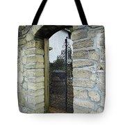 Iron Gate To The Garden Tote Bag