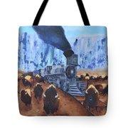 Iron Horse Tote Bag