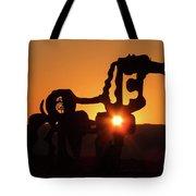 Iron Horse Heart Warming Tote Bag