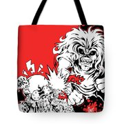 Iron Maiden Vs Megadeth Tote Bag