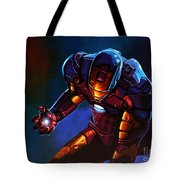 Iron Man Tote Bag by Paul Meijering