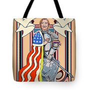 Iron Queen Tote Bag