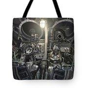 Iron Sky Tote Bag